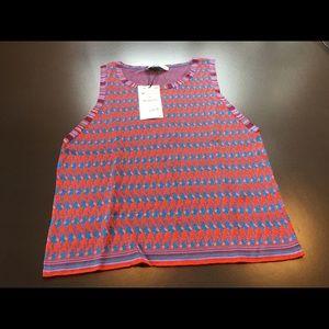 Zara The Knitwear Collection Sleeveless Top